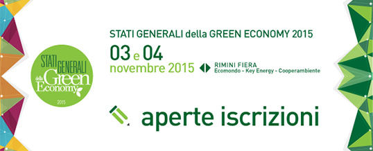 Il CDCNPA partecipa agli Stati Generali della Green Economy – Iscriviti