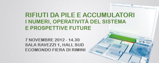 Convegno CDCNPA a Ecomondo