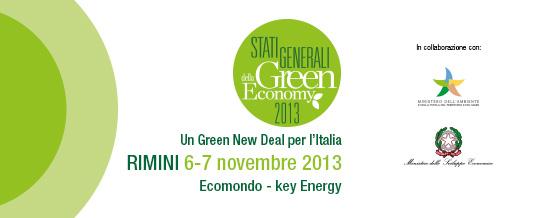 Aperte le iscrizioni agli Stati Generali della Green Economy 2013