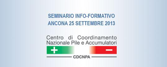 Ancona ospiterà il 4° Seminario Info-formativo