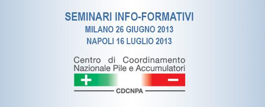 Nuovi appuntamenti per i Seminari Info-formativi