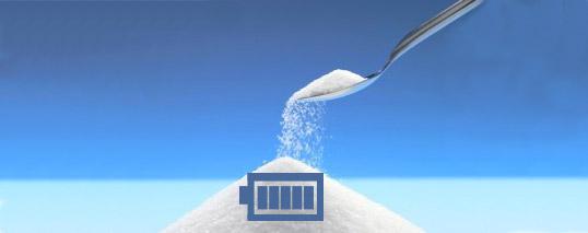 La batteria ecologica del futuro si ricaricherà con lo zucchero?