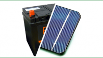 Vecchie batterie trasformate in celle fotovoltaiche? Yes we can!